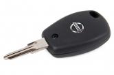 Ключ замка зажигания Nissan Almera (ВАЗ) с чипом PCF 7936 без кнопок