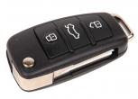 Ключ замка зажигания Ларгус выкидной, с платой по типу Audi