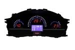 Комбинация приборов электронная 1118, 2112, 2170 FLАSH2 до июля 2012 г.в. (авто-евросвет) (красн.)