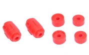 Втулка стойки стабилизатора Ларгус VTULKA (красная, полиуретан) 6шт.6001547138, 8200277960
