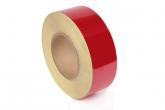 Пленка - лента светоотражающая, красная (ширина 5 см., в рулоне 47м.)