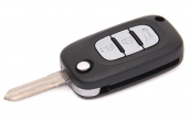 Ключ замка зажигания 1118, 2170, 2190, Datsun (выкидной, с платой) по типу Гранта FL