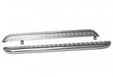 Пороги 2131 Нива с алюминиевым листом 63,5мм труба нержавейка ТС