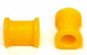 Втулка штанги стабилизатора 2192 Гранта люкс (23,2мм) СПБ (полиуретан, желтая) 2 шт VZ-2-0-111-65