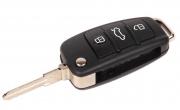 Ключ замка зажигания 1118, 2170, 2190, Datsun, 2123 (выкидной, без платы) по типу Audi