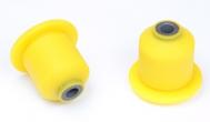 Сайлентблок заднего рычага 2108 С.П.Б (полиуретан, желтый) 2шт.  VZ-1-1-104-65