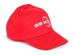Кепка красная с логотипом SS20