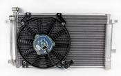 Радиатор 2170 Приора под кондиционер (в сборе) Panasonic