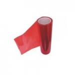 Пленка автомобильная, для фар (красная броня, 180 мкр) ширина 30 см (в рулоне10м)