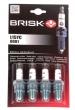 Свеча зажигания BRISK Super L15YC 8кл. карбюратор (Чехия)