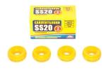 Втулка амортизатора заднего 2110, перед. 2101 SS20 (бублики) (желтые, полиуретан) 4шт  70105