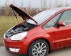 """Упор капота Ford S-Max I, Galaxy II (2006-) (в сборе с кронштейном) """"ТехноМастер"""""""