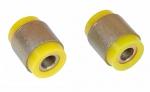 Сайлентблок амортизатора переднего (нижний) 2101, 21214, 2123 VTULKA (желтый) 2шт 17-06-129