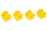 Втулка штанги стабилизатора концевая 2123-1 кт.,Веста-0,5 кт (22мм) С.П.Б.(4шт, желт.) VZ-2-0-107-65
