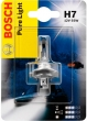 Лампа галогеновая H7 12-55 BOSCH Pure light (Quick)
