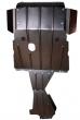 "Защита картера двигателя, КПП, раздаточной коробки усиленная ""Броня"" 2123 Шевроле Нива (2,3 мм)"