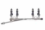 Рампа топливная 21101 BOSCH в сборе с форсунками BOSCH (1.6L)