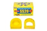 Опоры рулевой рейки 2108-2115, 2110 с/о SS20 (полиуретан, желтые) 2шт  70106