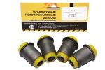 Сайлентблок нижнего рычага 2121 VTULKA с/о (полиуретан, желтый) 4шт. 17-06-003