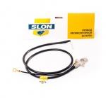 Провод аккумулятора отрицательный (-) 21214 SLON (11)