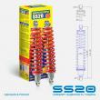 Амортизатор задний в сборе SS20 Cross Комфорт для квадроцикла Stels ATV 650/800/850, Guepard 2шт.