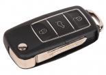 Ключ замка зажигания 1118, 2170, 2190, Datsun, 2123 (выкидной) по типу Volkswagen Люкс, 3 кнопки