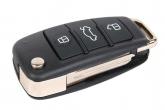 Ключ замка зажигания 2190 Гранта FL (выкидной, без платы) по типу Audi эконом