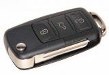 Ключ замка зажигания 2190 Гранта FL (выкидной, без платы) по типу Volkswagen, 3 кнопки
