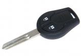 Ключ замка зажигания Nissan Juke, Nissan Tiida 2 кнопки