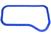 Прокладка картера масляного 2101 (поддона) силиконовая со втулками, синяя