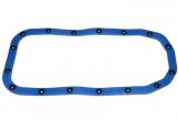 Прокладка картера масляного 2108 (поддона) силиконовая со втулками, синяя