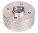 Проставка колеса алюминиевая 10мм (4шт.) ZUZ