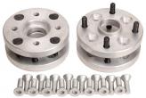 Проставка колеса переходная алюминиевая 4х98/4х108 20мм (4шт.) ZUZ