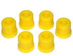 Втулка рессоры УАЗ Патриот (полиуретан желтый) 6шт VTULKA