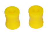Втулка амортизатора нижняя УАЗ Патриот (полиуретан желтый) 2шт VTULKA
