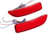 Светоотражатели на бампер задний Ларгус (светодиод двухрежимный) 2шт