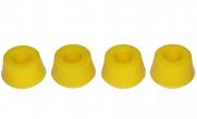 Втулка амортизатора верхняя УАЗ Патриот конусная (полиуретан желтый) 4шт С.П.Б.
