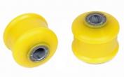 Втулка стойки стабилизатора нижняя 2108 С.П.Б. (полиуретан, желтая) 2 шт. VZ-1-1-101-65