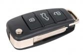 Ключ замка зажигания 2190 Гранта FL (выкидной) по типу Audi эконом