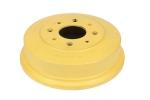 Барабан тормозной задний 1118 Калина, 2108-2110 АЛНАС (чугунный, желтый) 2 шт.
