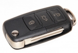 Ключ замка зажигания 1118, 2170, 2190-люкс, DATSUN, 2123 (выкидной) по типу Volkswagen, 3 кнопки
