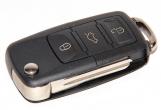 Ключ замка зажигания 1118, 2170, 2190, Datsun, 2123 (выкидной, без платы) по типу Volkswagen