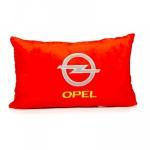 Подушка декоративная OPEL (красная)