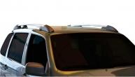 Ложементы багажника (рейлинги) 2123 Шевроле Нива (серебристые) Vamer