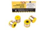 Стойки стабилизатора в сборе 2108 VTULKA (полиуретан, желтые) 2шт  17-20-115