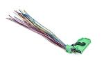 Разъем для комбинации приборов 1118 Калина, 2170 Приора (норма) зеленый, 26 клемм , 26 проводов