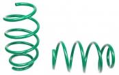 Пружины передних стоек Веста ТЕХНО РЕССОР (зеленые -70мм) 2шт