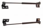"Упор капота Nissan X-Trail II (2007-) (в сборе с кронштейном, двойной) ""ТехноМастер"""