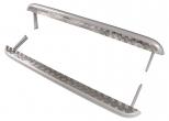 Пороги 2131 Нива с алюминиевым листом 63,5 мм Металл-Дизайн