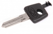 Ключ замка зажигания (рабочий, без чипа) 2123 Шеви Нива